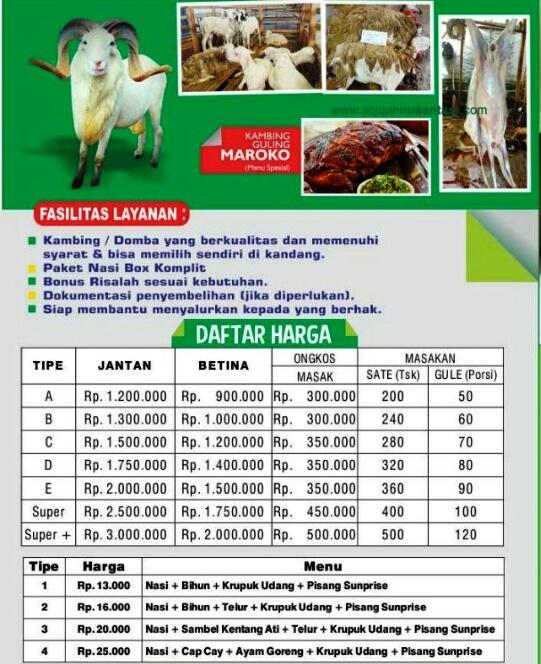 kambing aqiqah tangerang